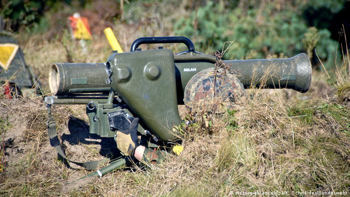 MILAN anti-tank weapons
