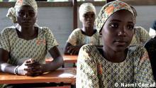 junge Mädchen in einer Mädchenschule im Südniger