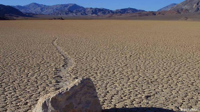 A landscape shot of Death Valley National Park