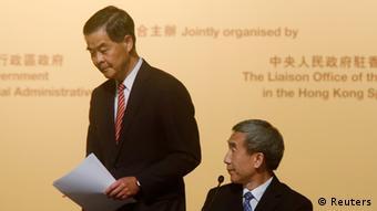 Hongkong Li Fei Rede 01.09.2014