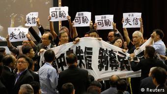 Hongkong Proteste 01.09.2014
