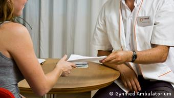 Stock photo - Abortion counseling session (Gynmed Ambulatorium)