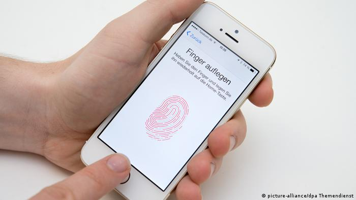 iPhone 5s Fingerabdruck Touch ID