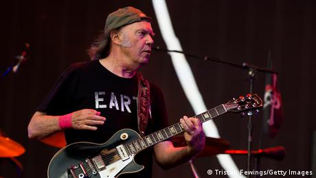 Neil Young beim British Summer Time Festival 2014