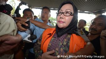 Ratu Atut Chosiyah Verhaftung in Indonesien