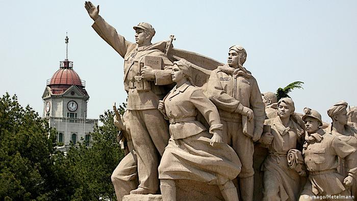 China Denkmal der Volkshelden in Peking (imago/Metelmann)