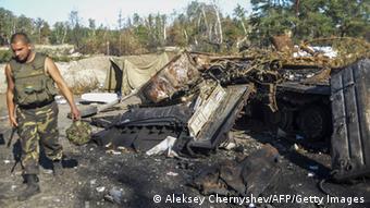 Ukraine ukrainische Streitkräfte Lugansk 21.08.2014