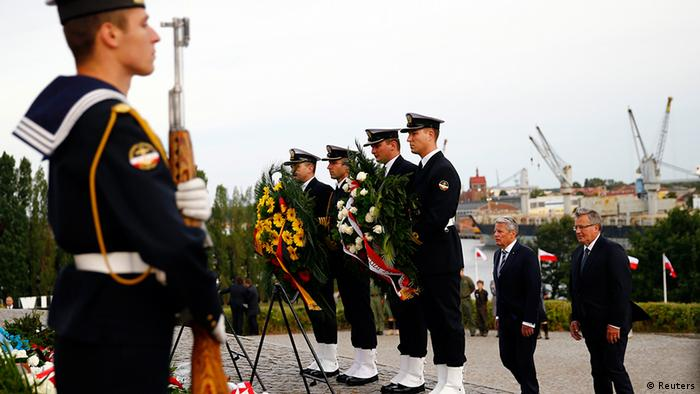 Início da Segunda Guerra é lembrado sob a sombra da crise na Ucrânia