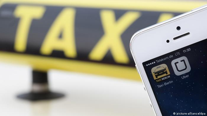 Germany Slowly Overcomes Its Uber Phobia Technology Dw 16 02 2015