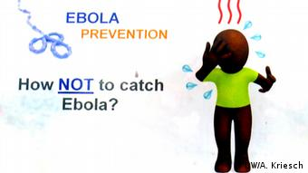 Ebola Hotline - campaign-Comic