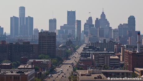 Detroit Skyline Archiv 2013