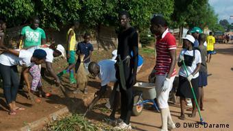 Kampagne gegen Ebola in Guinea-Bissau