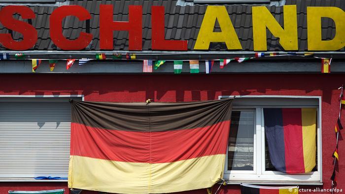 Schland Aufschrift WM 2014