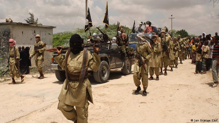 Somalia Mogadischu Al-Shabaab Kämpfer ARCHIV