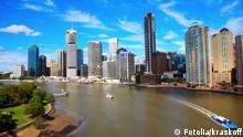 #43456508 - Brisbane River and City, Australia © kraskoff