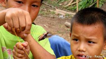 Stateless children in Thailand