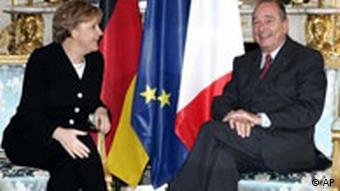 Angela Merkels Antrittsbesuch in Frankreich