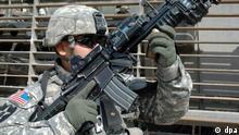 Irak USA Soldat Bagdad