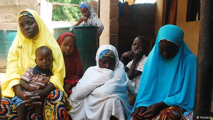 Women in an IDP camp in Northern Nigeria