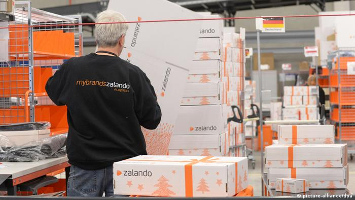 Zalando Logistikzentrum in Erfurt