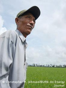 Rice farmer Hai Thach (Photo: Christopher M. Johnson/BURN)