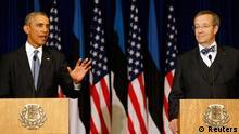 Barack Obama mit Toomas Hendrik PK 03.09.2014 Tallinn