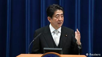 Japan Kabinettsumbildung Abe PK 03.09.2014