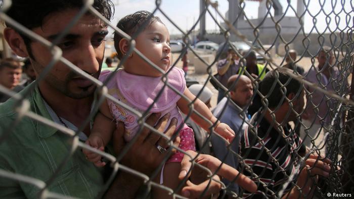 Palästina Blockade Gazastreifen Grenze zu Ägypten Palästinenser (Reuters)