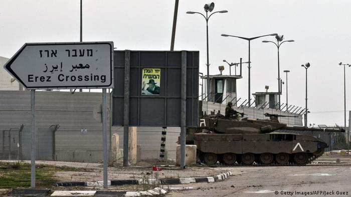 The border crossing at Erez (Getty Images/AFP/Jack Guez)