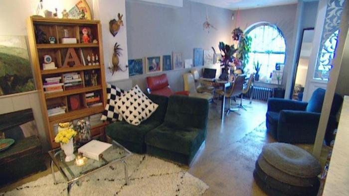 wohnen in einem ehemaligen stall in london euromaxx ambiente dw com. Black Bedroom Furniture Sets. Home Design Ideas