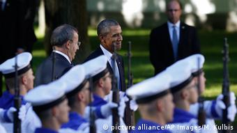 Barack Obama in Estonia (AP Photo/Mindaugas Kulbis)