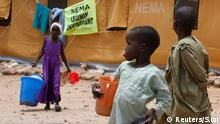 Flüchtlingslager in Bama, Nigeria