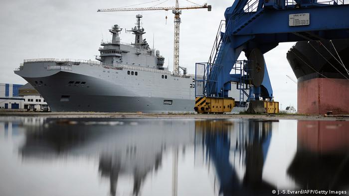 Один з замовлених Росією бойових кораблів
