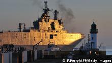 Frankreich Kriegsschiff Mistral
