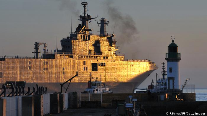 French ship Mistral