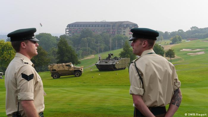 NATO summit in Newport, Wales
