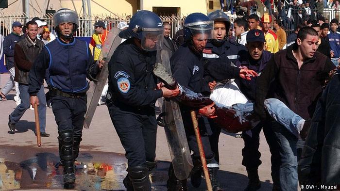Algerien Gewalt in Stadien
