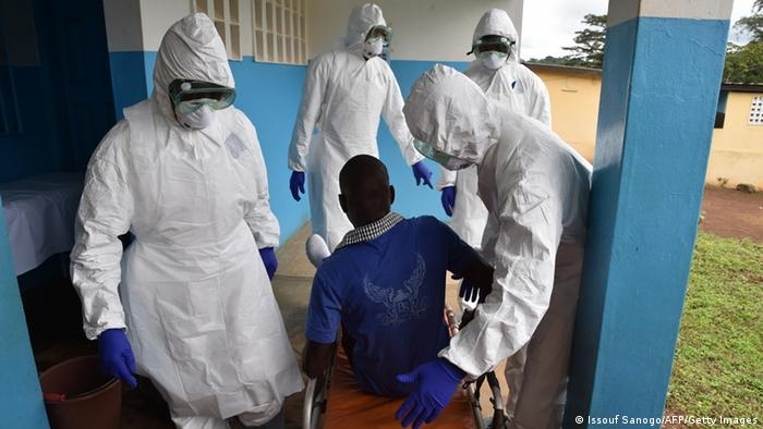Health workers in Liberia