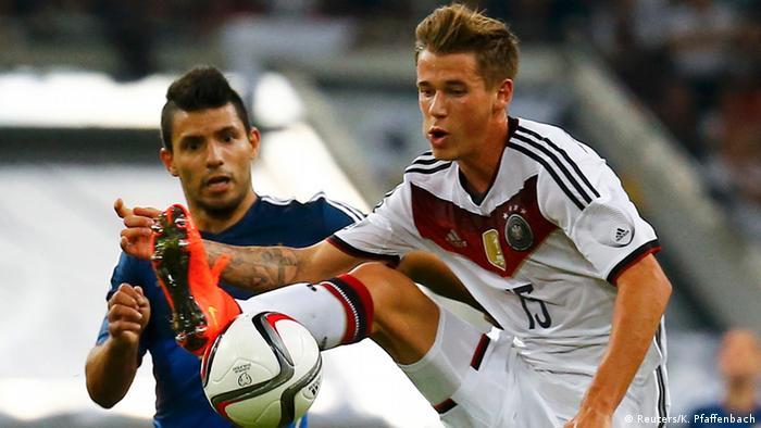 Länderspiel Deutschland gegen Argentinien