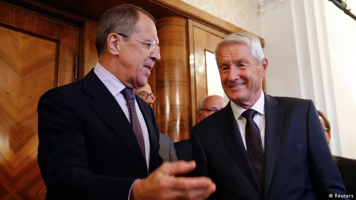Генсек Ради Європи Турбйорн Ягланд вів переговори Москві з Сергієм Лавровим на початку вересня