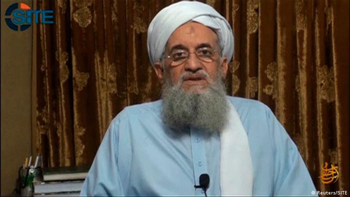 Aiman az-Zawahiri Videobotschaft (Reuters/SITE)