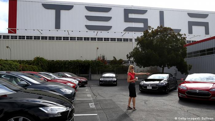 Tesla's headquarters in Fremont, California (Getty Images/J. Sullivan)