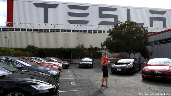 Tesla's headquarters in Fremont, California