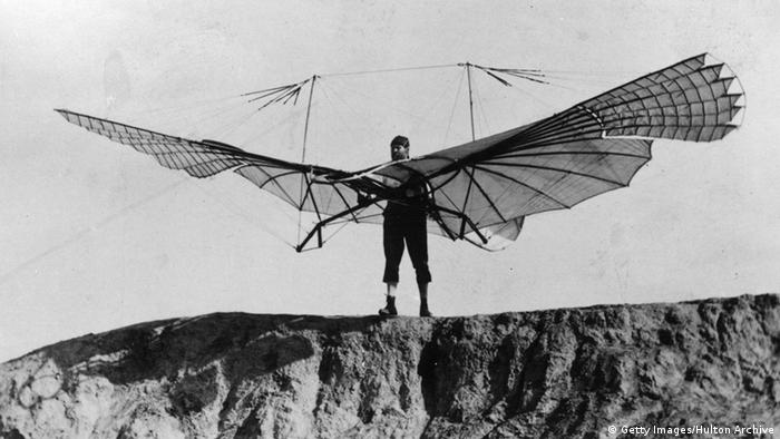 Have hit otto lilienthal first gliders would