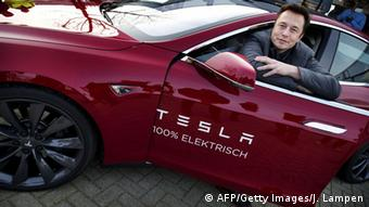 Tesla Motors Elon Musk (AFP/Getty Images/J. Lampen)