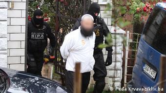 EINSCHRÄNKUNG Verhaftung von Bilal B. mutmaßlicher Islamist Bosnien und Herzegowina