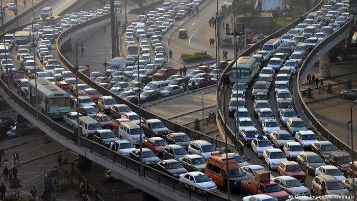 Symbolbild - Stau in Kairo (Getty Images/K. Desouki)