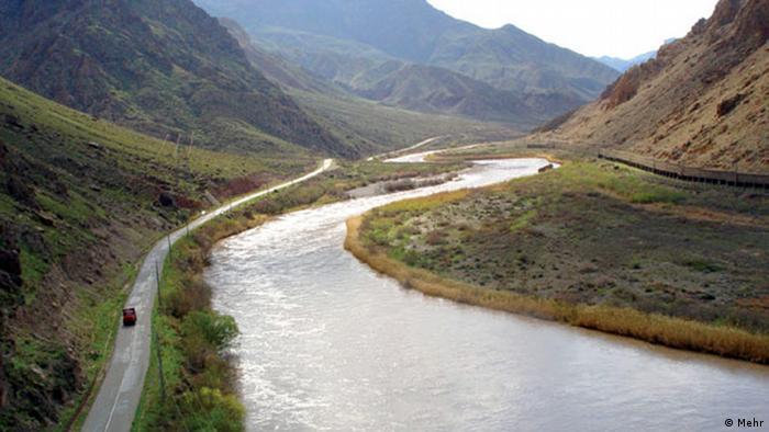 «رودخانه ارس رو به خشکی میرود»