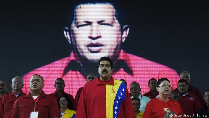 Symbolbild - Hugo Chavez (Getty Images/J. Barreto)