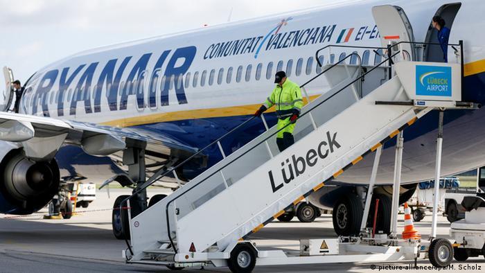 Symbolbild - Ryanair Flugzeug